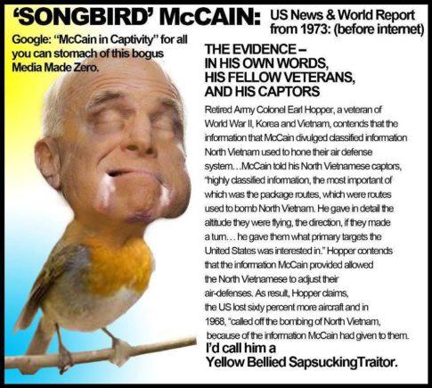McCain Vietnam Songbird