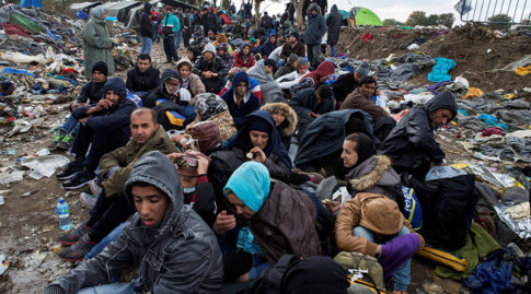Migrant crisis Europe