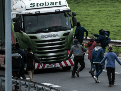 Record Number Of Truck Drivers Fined For Transporting Migrants Into UK