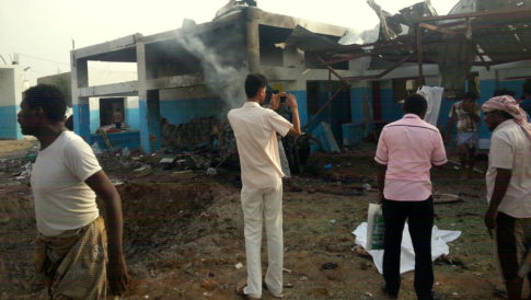 Saudi Arabia Bombs Doctors Without Borders Hospital In Yemen, Killing 15