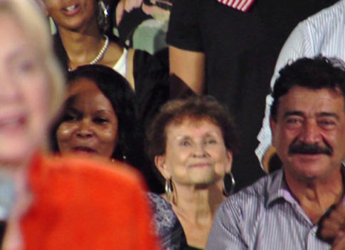 The Father Of The Orlando Mass-Shooter Was Sitting Behind Hillary
