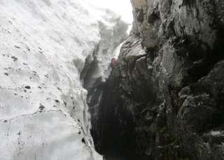 snow depth on North Face of Ben Nevis