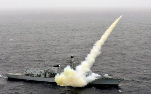 hms-montrose-testing-a-harpoon-missile-which-has-a-range-of-up-to-80-miles