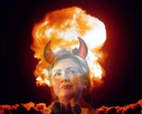 hillary-satanic-war
