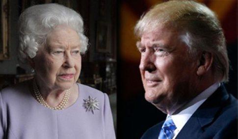 trump-the-queen