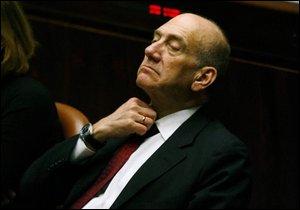 israel-prime-minister-ehud-olmert-masonic-sign